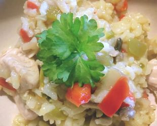 Dunrobin Valley Turkey Risotto