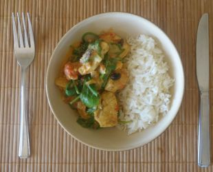 Dunrobin Valley Quick Chicken Curry