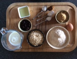 Dunrobin Valley Oatmeal and Raisin Muffins