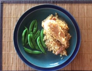 Dunrobin Valley Honey Breast of Chicken on Rice