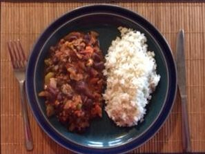 Dunrobin Valley Chilli with Rice