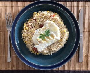 Dunrobin Valley Spiced Fish with Couscous