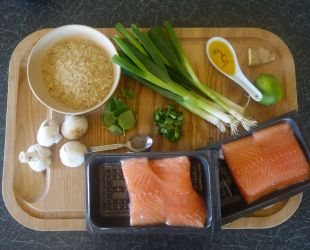 Dunrobin Valley Thai Style Salmon with Aromatic Rice