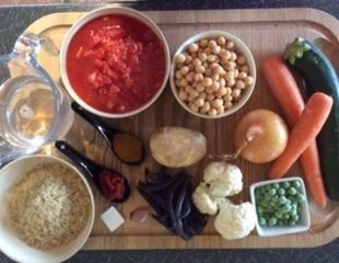 Dunrobin Valley Vegetable Curry