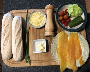 Dunrobin Valley Smoked Fish Baguettes