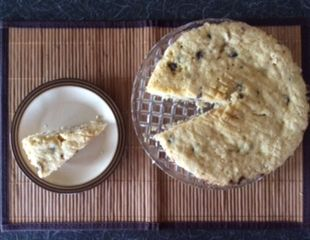 Dunrobin Valley Banana and Chocolate Chip Cake