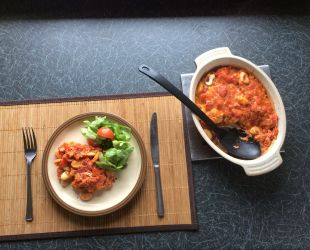 Dunrobin Valley Bean and Roast Pepper Tagine