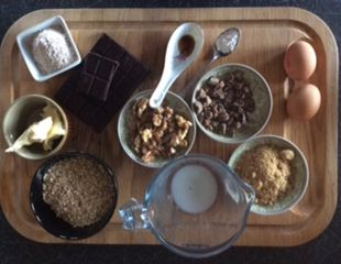 Dunrobin Valley Oatmeal and Date Brownies